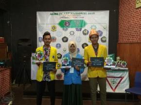 Lilis Sugianti Juara Runner-Up Lomba Essai Dalam Kegiatan Agro In Art Nasional 2018